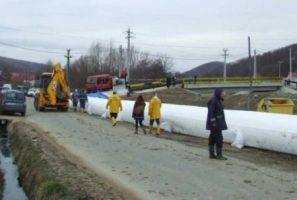 Exerciţiu de simulare a unui accident la lucrări hidrotehnice situate în amonte de municipiul Râmnicu Vâlcea