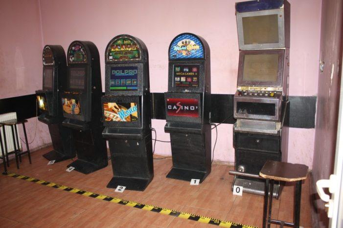 Peste 300 de percheziţii la firme din domeniul jocurilor de noroc