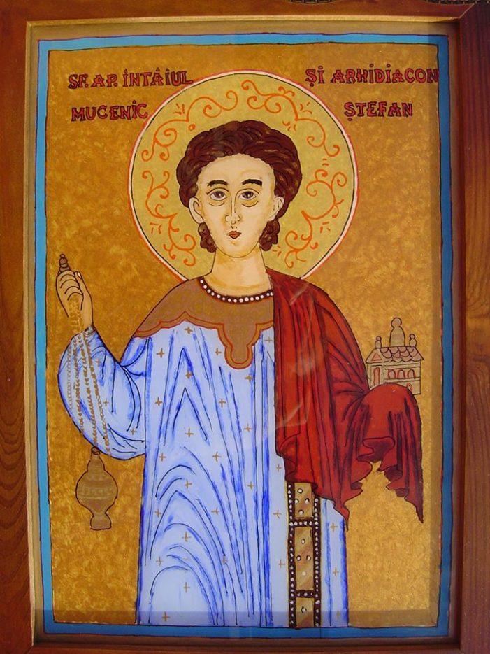 Peste 400.000 de români își celebrează onomastica, de Sfântul Ștefan