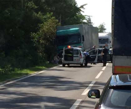 Accident mortal pe DN7 Pitești — Râmnicu Vâlcea