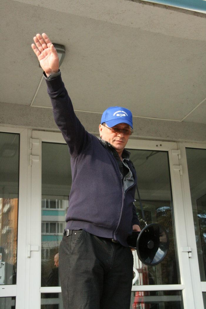 Valcea: Liderul sindicatului Sodistul si alti 2 membri ai sindicatului au intrat în greva foamei