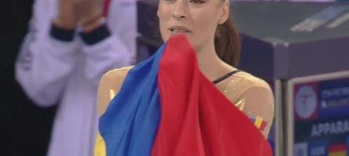 Cătălina Ponor, campioană europeană la bârnă la CE de la Cluj-Napoca
