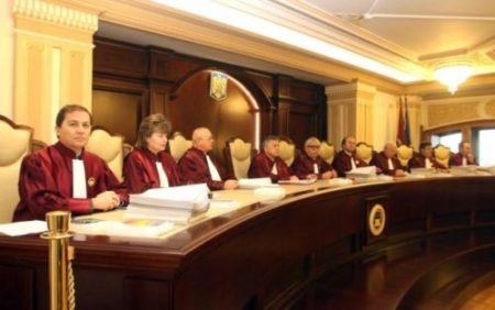 CCR respinge sesizarea Avocatului Poporului la legea care interzice persoanelor condamnate să fie membri ai Guvernului