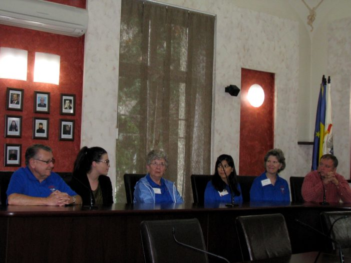 Un grup de medici din Statele Unite, în vizită la Primăria municipiului