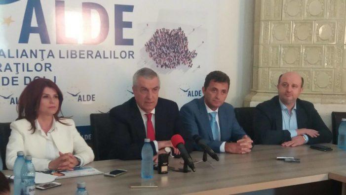 """Președintele ALDE Călin Popescu -Tăriceanu: """"Anișoara Stănculescu, un primar modern care gândește dezvoltarea Craiovei în perspectivă"""""""
