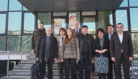 O delegaţie a Camerei Agricole Loiret,  într-o nouă vizită  in județul Olt