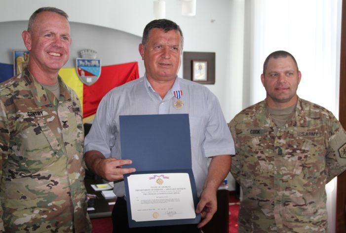 Primarul Mircia Gutău, felicitat de Guvernatorul statului Georgia şi de primarul din Columbus – Statele Unite ale Americii
