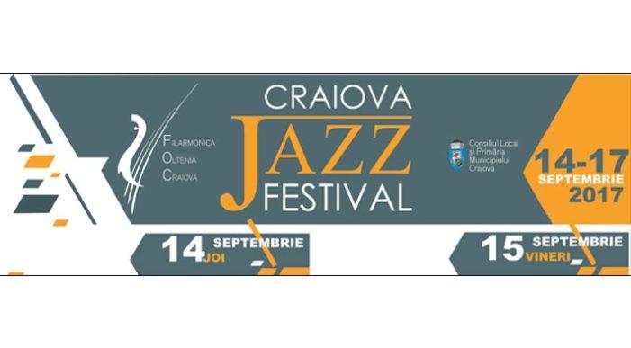 Craiova Jazz Festival (14 -17 septembrie 2017) – prima ediţie