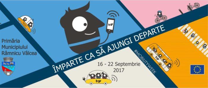 Râmnicu Vâlcea organizează o nouă ediţie a Săptămânii Mobilităţii Europene – 22 septembrie: Ziua fără Maşină