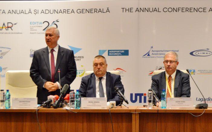 CJ Dolj: Ion Prioteasa a participat  la deschiderea celei de-a 25-a Conferințe Anuale și Adunări Generale a Asociației Aeroporturilor din România