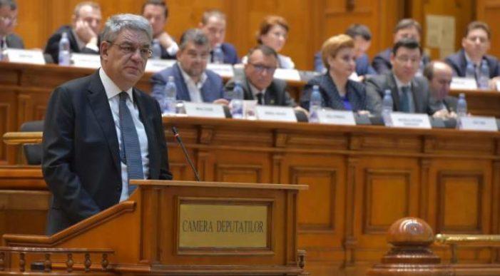 Moțiunea de cenzură împotriva guvernului Tudose a fost respinsă