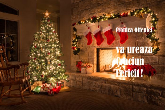 Cronica Olteniei vă urează Crăciun Fericit!