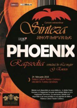 """Turneul Phoenix """"Sinteza – Rapsodia"""" ajunge la Drobeta Turnu-Severin în 24 februarie"""