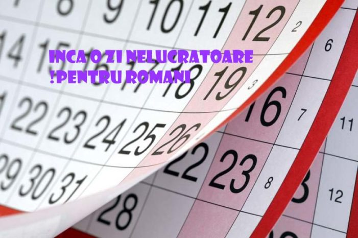 Incă o zi liberă în România