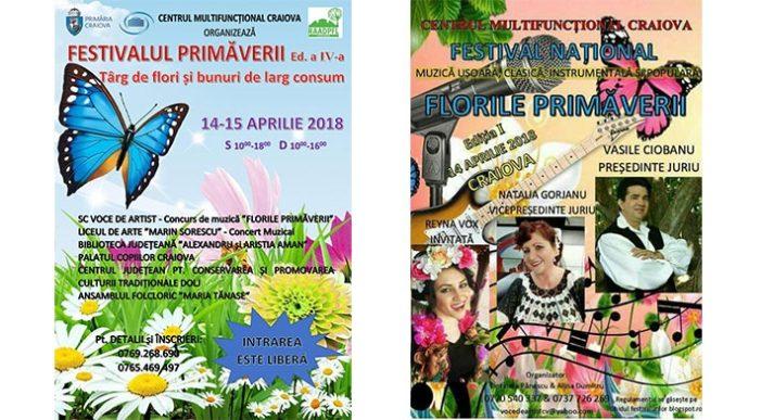 """Craiova: Cea de a-IV-a editie a """"Festivalului Primaverii"""""""