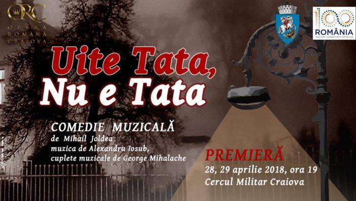 Maraton de evenimente la Opera din Craiova