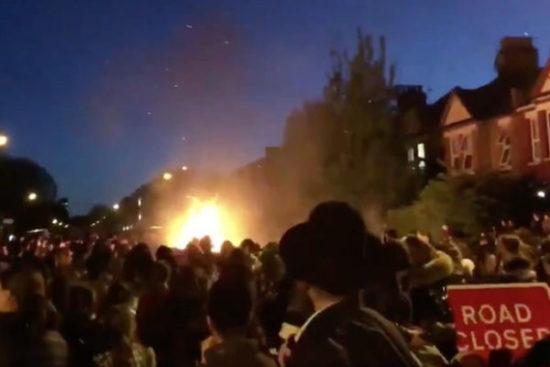 Video: Explozie la festivalul evreiesc din Londra – peste 30 de răniți