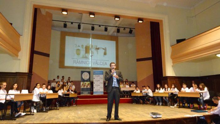 """Concursul """"Râmnic 630"""" – elevii din Râmnic s-au întrecut în cunoaşterea istoriei municipiului"""