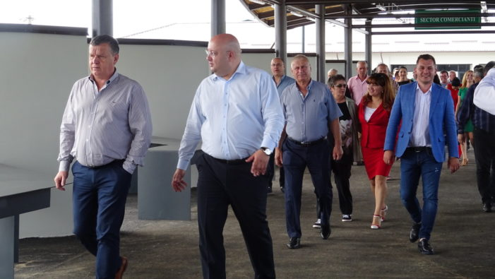 Râmnicu Vâlcea: S-au inaugurat lucrările de modernizare a Târgului de la Râureni