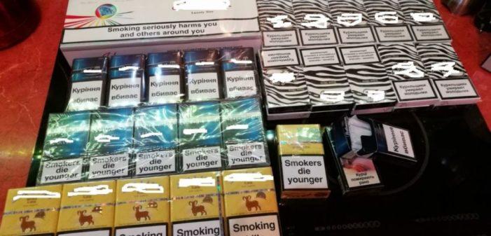 Dolj: Contrabandiști de țigări, ridicati de politisti