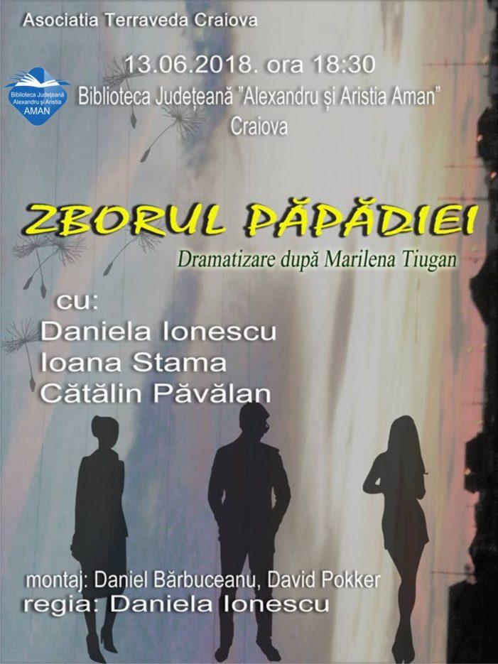 """Biblioteca Județeană """"Alexandru și Aristia Aman"""": Spectacolul """"Zborul păpădiei"""""""
