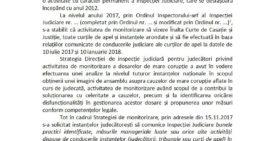 Inspectia Judiciară: Raport privind dosarele de mare coruptie