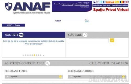 ANAF: Dacă nu o depui Declaraţia Unică pana pe 16 iulie, amenda de la 50 lei la 500 lei