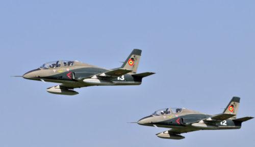 Piloţii avionului militar prăbuşit în judeţul Bacău au supravietuit