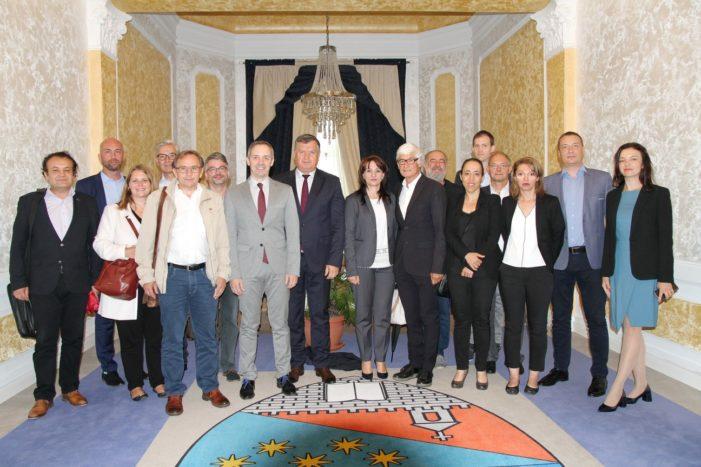O delegaţie a Primăriei din Esch sur Alzette – Luxemburg vizitează Râmnicu Vâlcea