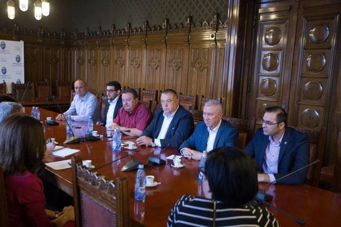 Conducerea Primăriei Craiova, intalnire cu directorul Ford Romania