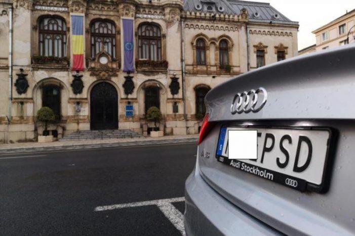 Dosar PENAL pentru șoferul cu numărul de înmatriculare M**E PSD