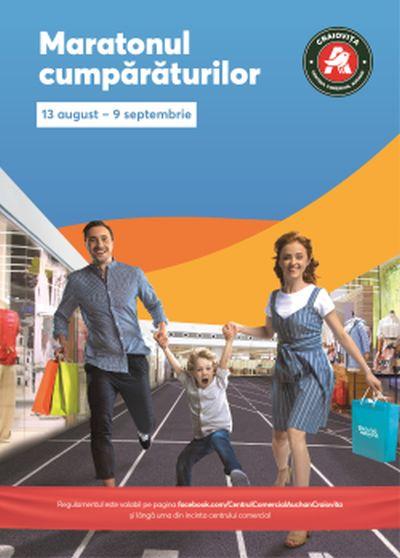 Începe Maratonul Cumpărăturilor în Centrul Comercial Auchan Craioviţa !