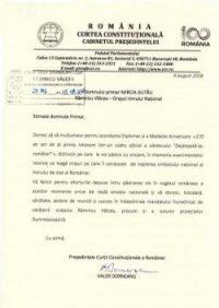 """Ramnicu Valcea: Reacţii de la cel mai înal nivel după ceremonia de acordare a Medaliilor Aniversare """"Ziua Imnului Naţional"""""""