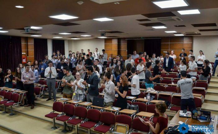 Județul Dolj dă vicepreședinele Consiliului Național al Elevilor