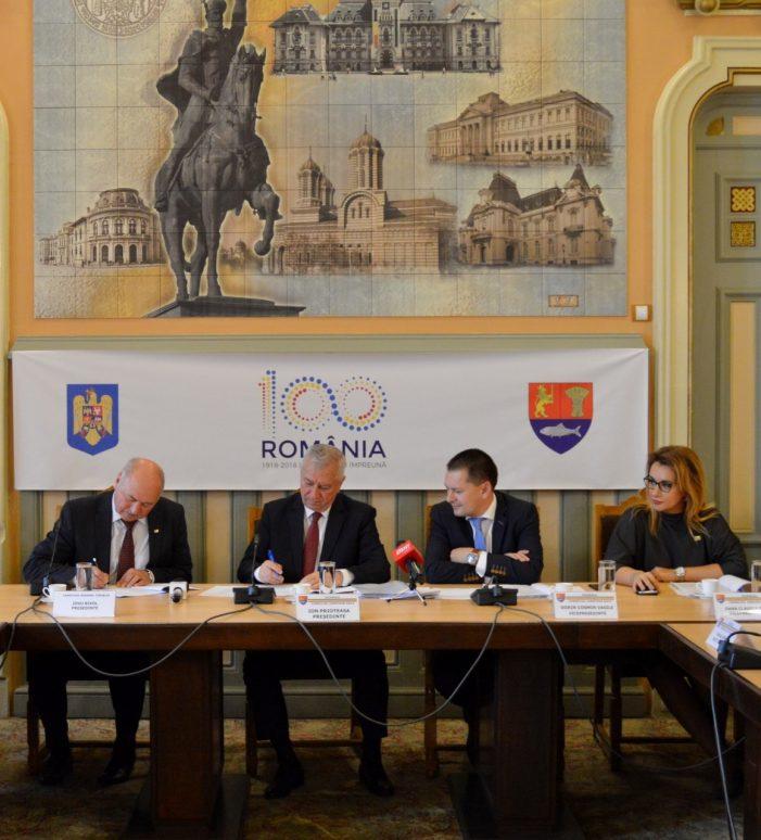 Consiliului Județean Dolj, acordul de înfrățire cu Consiliul Raional Cimișlia – Republica Moldova