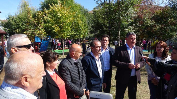 Ramnicu Valcea: Parcul Rotary a revenit la viaţă