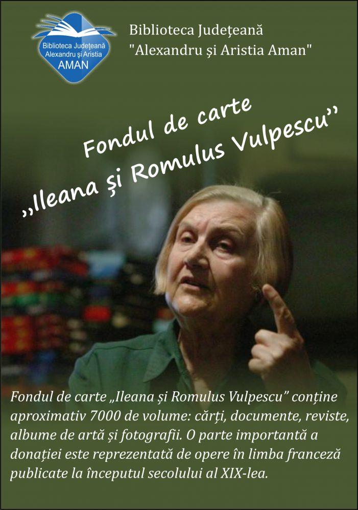 Biblioteca Aman: Muzeul Cărții și Exilului Românesc – completarea donației soților Vulpescu