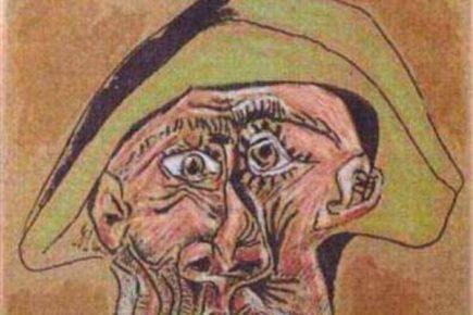 """Un tablou al lui Pablo Picasso -""""Cap de arlechin"""", furat de romani din Olanda in urma cu sase ani, a fost gasit"""