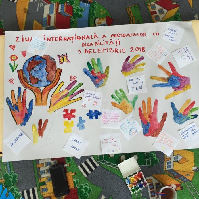 Ramnicu Valcea: 3 decembrie – Ziua Internaţională a Persoanelor cu Dizabilităţi