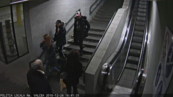 Video: Spiritul de Crăciun nu a ajuns la toţi: chiar în Ajun, doi tineri au fost surprinşi de camerele video în timp ce furau un portofel