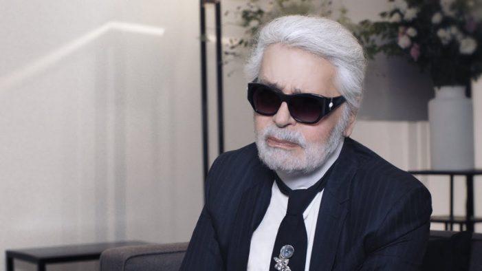 Amurit Karl Lagerfeld, designerul principal al casei Chanel