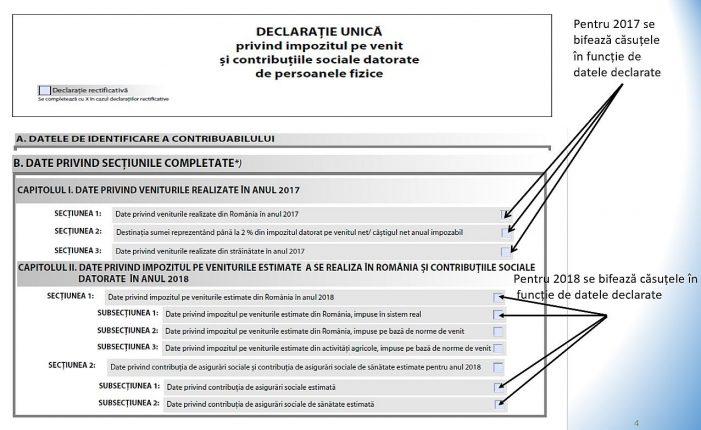 Declaraţia Unică 2019: 15 martie 2019, termen limita