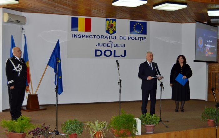 Mesajul președintelui Consiliului Județean Dolj, Ion Prioteasa, cu ocazia Zilei Poliției Române
