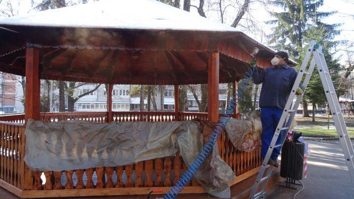 Lucrări curente derulate de Primăria municipiului Râmnicu Vâlcea