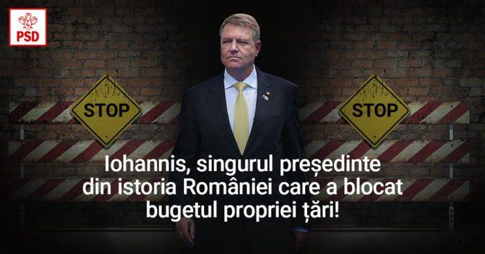 PSD: Iohannis minte