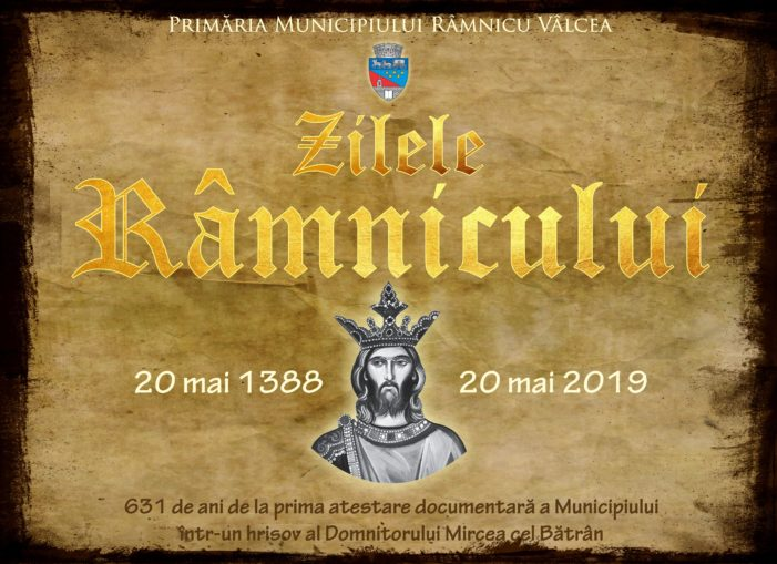 Zilele Râmnicului – 631 de la prima atestare documentară a municipiului