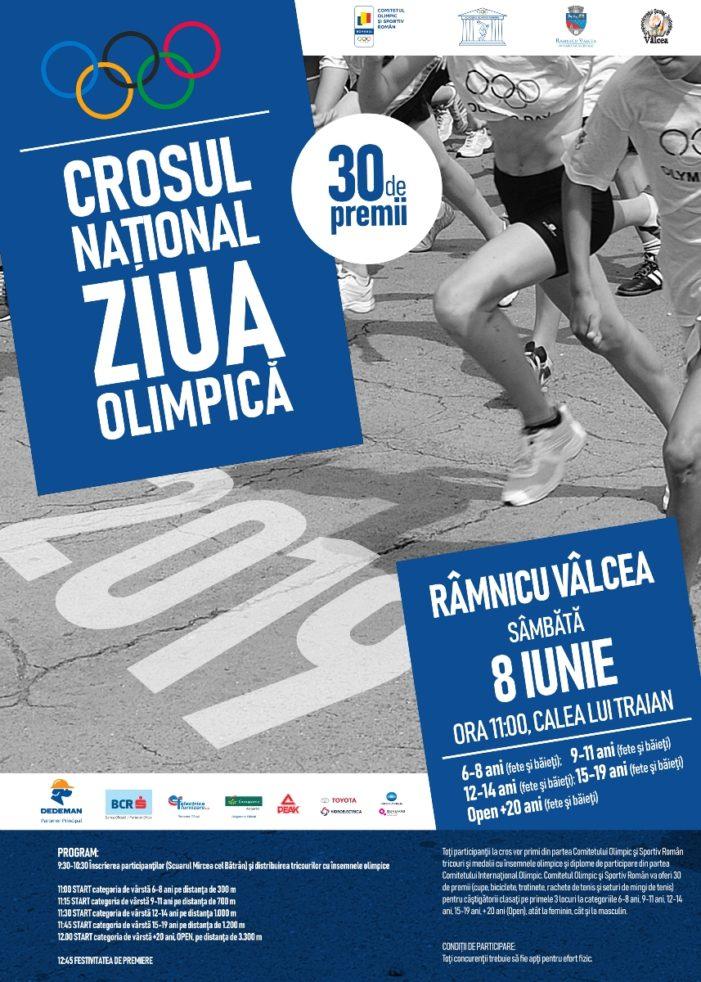 """Sâmbătă, 8 iunie, la Râmnicu Vâlcea se desfăşoară Crosul Naţional """"Ziua Olimpică"""" – zeci de premii oferite de Comitetul Olimpic şi Sportiv Român"""