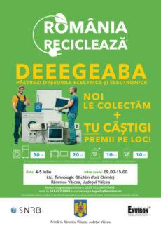 valcea, reciclare
