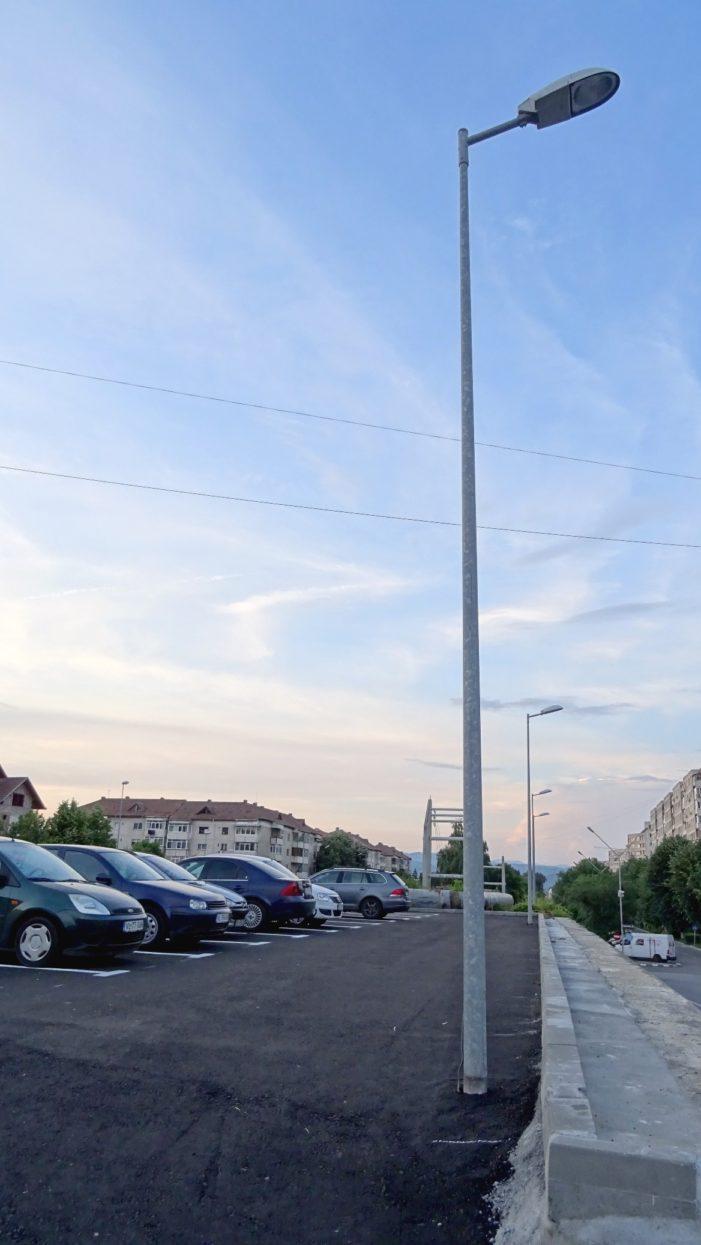 Ramnicu Valcea: O nouă parcare în cartierul Ostroveni
