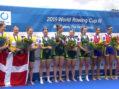 România, o medalie de aur și una de bronz la Cupa Mondială de Canotaj III de la Rotterdam, Olanda